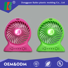 Custom made new design plastic injection abs plastic fan blade with UL