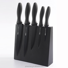 CYO2-A black handle kitchen knife set