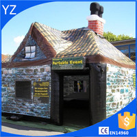 2016 Large outdoor PVC inflatable pub/ bar house tent for sale