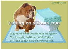quick-dry absorbent wee wee pet pads(60*90cm)