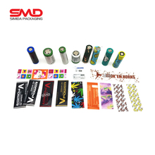 Low price 18650 20700 21700 custom printed Battery Shrink Wrap
