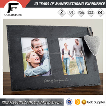 Handcraft 12x18 slate photo frame