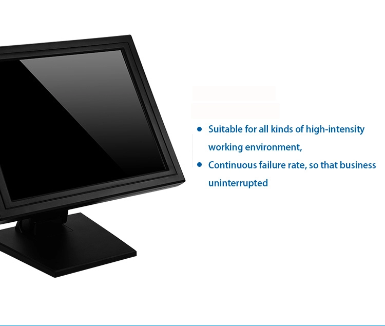 New design USB/RS232 touch screen monitor 15 inch