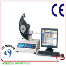 PC system controlled, Pneumatic clamp, Digital Elmendorf type, tear strength testing equipment