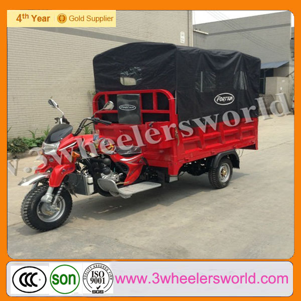 Chongqing Manufactor 2013 New Design Top Seller Mini Truck Cargo Tricycle for Sale