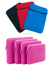 Promotional fashion cheap neoprene laptop sleeve without zipper