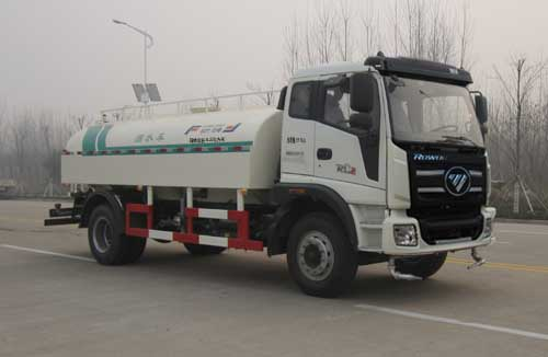 Manufacturer of foton 6X4 Diesel Engine best used Water Tank Truck for sale