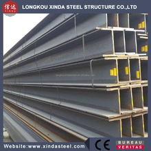 Steel structure used hot rolled welded h beam ss400