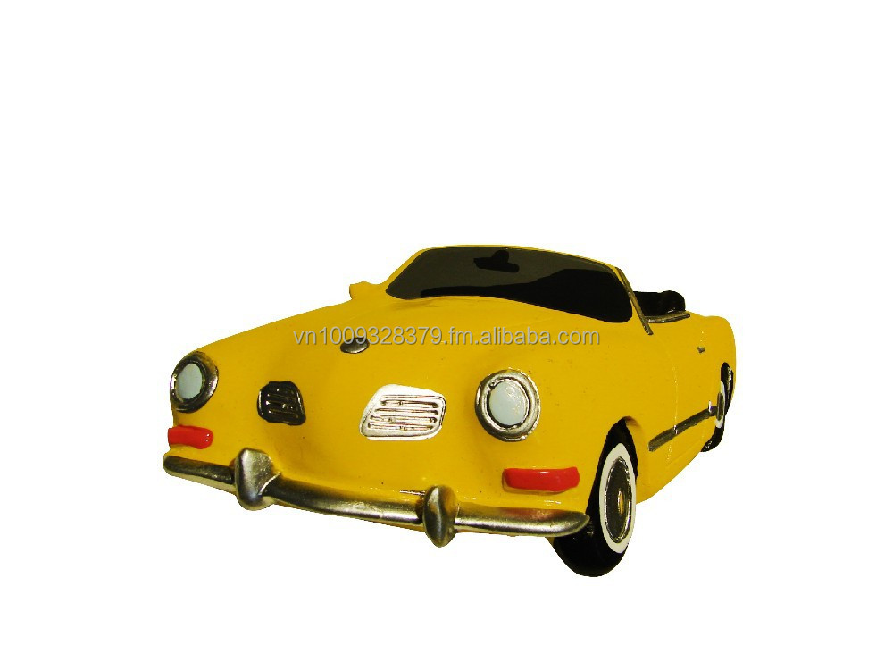 Polyresin Figurine Classic Car