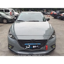 2018 hot selling cement Gray glossy car wrap vinyl