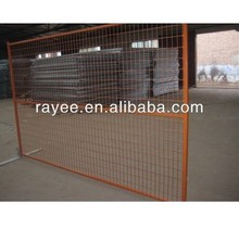 standard temporary portable yard movable fence low price and high quality / valla de la construccion portatil