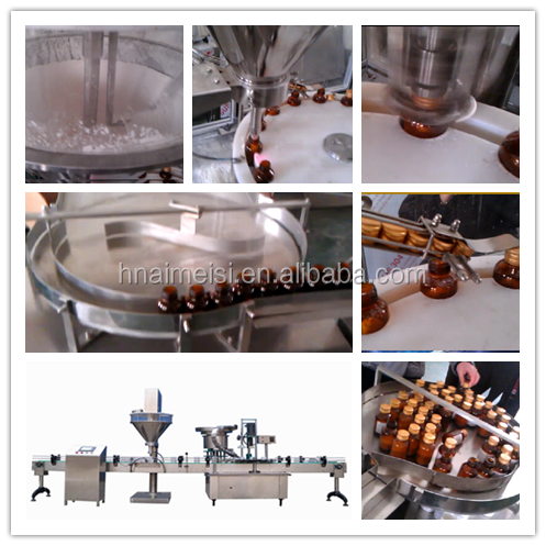 SS Spice Filling and Capping Machine with Bottle Can Barrel for Power 0086 371 65866393