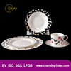 2016 New Product Houseware Luxuly Porcelain Tableware Sets
