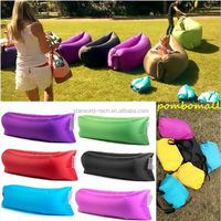 2016 New hot selling inflatable outdoor lazy sofa lounge sleeping air filling Easy Using foldable Mobile sofa