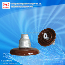 High Voltage Ceramic String Insulator ANSI 52-1