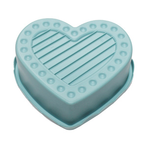 Large supply funny shape mould heart shaped cake food grade silicone mold