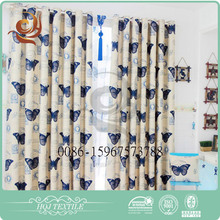 2016 New style Factory price Customized blackout curtain brand name curtain