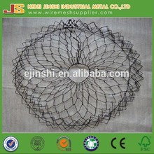 2015 Hot sale High quality wire mesh plant root transplanting baskets root ball netting