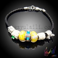 Dream charm bracelet diy korea fashion bracelet cute rubber bracelet