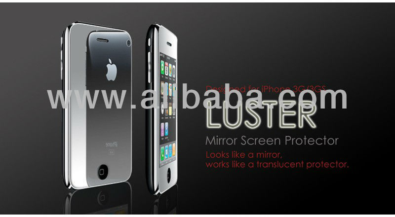 Luster Mirror Screen Protector for iPhone 3G/3GS