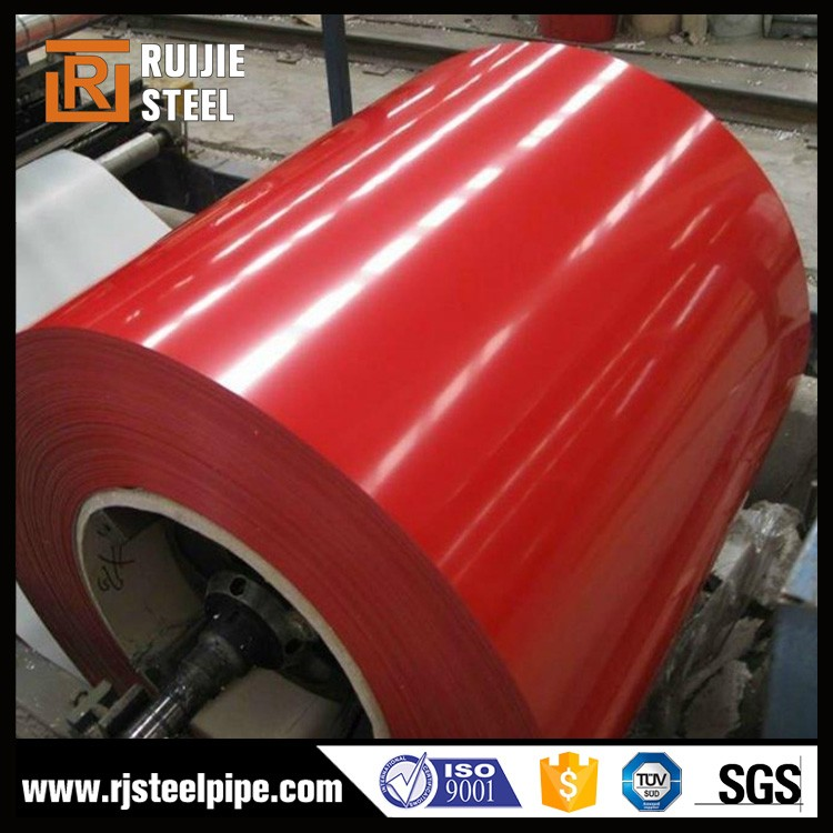 supply color coated steel, steel with zinc coating ppgi, top level coated steel sheet/coil ppgi coil