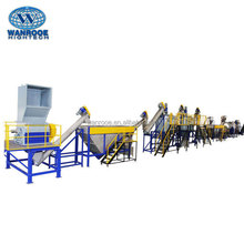 Plastic Recycling Line PET Flakes Washing Chemical