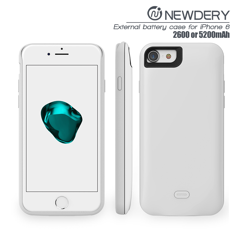 for IPHONE 6 /6S battery case ABS+TPU material power case for iphone 6 battery charger case