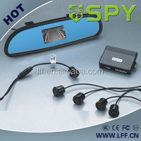 "SPY 3.0"" screen parking sensor with TFT mirror system"