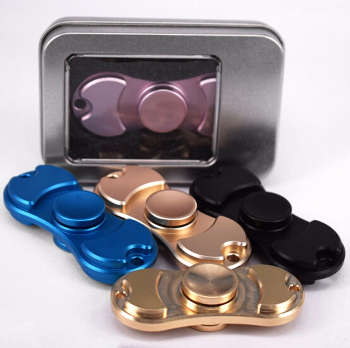 MOQ 100 pcs sample accept real factory wholesale price copper fidget spinner
