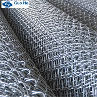 Own factory chain link fence price high quality