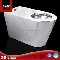 kuge top sale 304 stainless steel portable toilet price