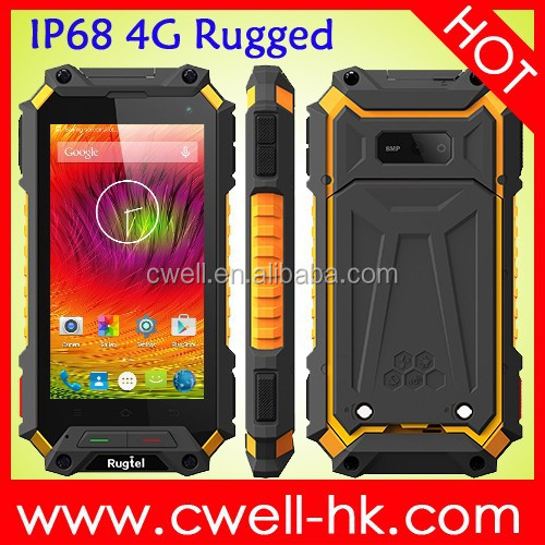 New Arriving!!!! X10 rugged phone IP68 4g 4.5 inch Android 5.1 2GB RAM 5000mAh battery