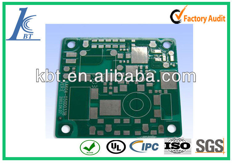 green solder mask FR-1 PCB,games mask green ,pcb repair and green board