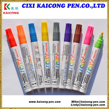 2018 KAICONG Indelible permanent Oil-based/opaque ink Valve Action paint marker pen PM-720