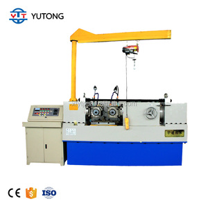 Rolling and thread machine drywall screw making machine