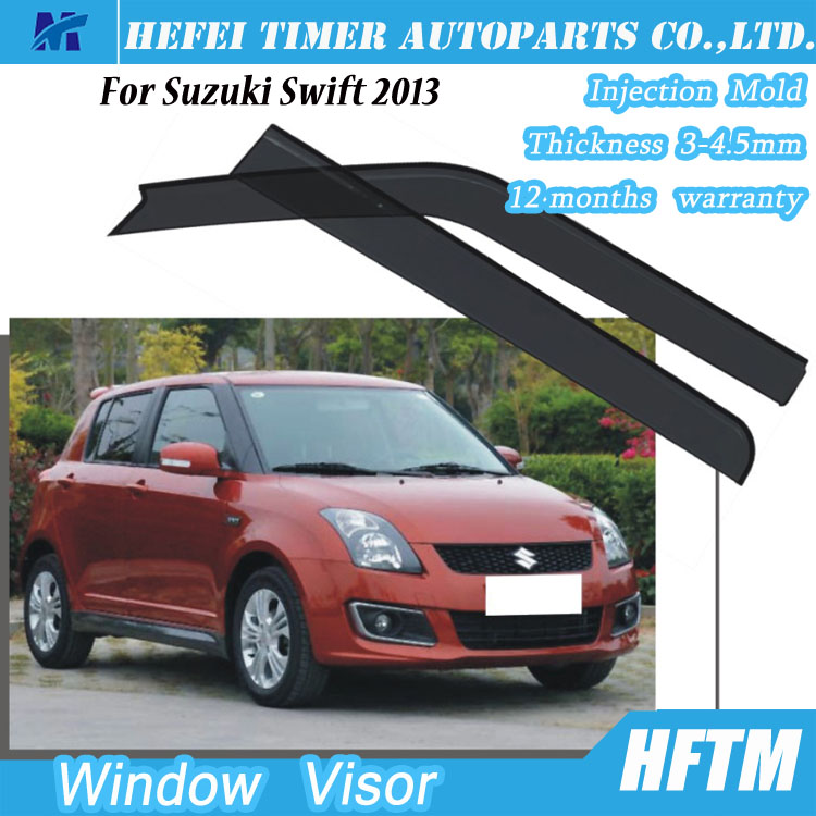 For Suzuki Swift 2013 PC window film door visor