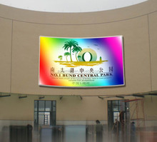 CE approved indoor/outdoor full color led display screen from china with RGY tricolor and multi-language