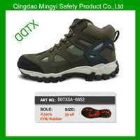 DDTXSA-6852 oil and slip resistance men leather safety shoes