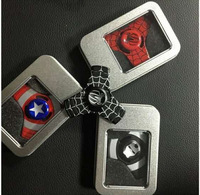 china supplier toys 2018 most popular products spider man spinner gear spinners fidget spinner metal