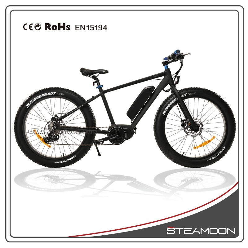 250w 26'' fat tire electric lithium battery snow ebike aluminum alloy dongguan MTB for sales XDC