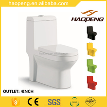 Ceramic Material and P-Trap,S-Trap Drainage Pattern Sanitary Ware One Piece Toilet
