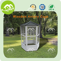Item -BC-1500 cheap bird cage wooden bird cage outdoor ,china pet supplies