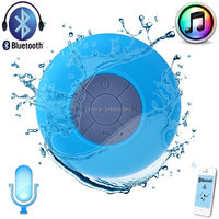 New Portable Mini Subwoofer Shower Waterproof Wireless Bluetooth Speaker Car Handsfree Receive Call Music with Suction Cup Mic