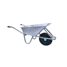 hot sale air wheel power metal wheel barrow