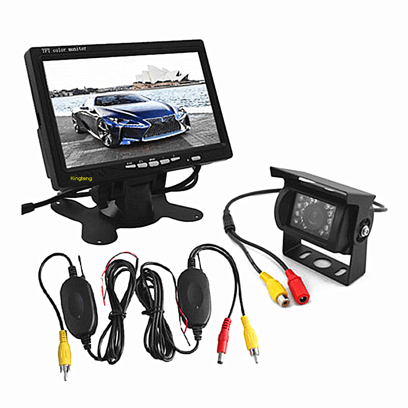 Wireless Car Rearview Security Backup Camera System For Bus/Truck/RV/Van (KT-616&KT-902)