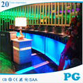 PG Transparent Acrylic Curved Fish Tanks Wholesale