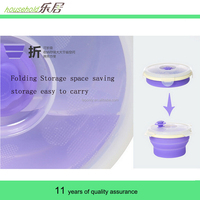 Factory Direct Silicone Round Outdoor Portable