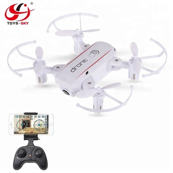 Camera drone hd 720P Pixel Mini Folding Quadcopter High-definition Folding UAV RC dron with camera