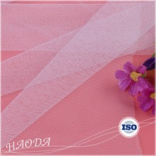 Wholesale Haoda Cheap 24gsm 100% Nylon Transparent Mesh Fabric