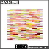mosaic mural tile/rainbow glass mosaic tile/mosaic tile patterns for tables YG172